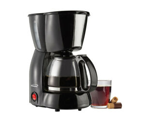 BRAND-NEW-Brentwood-Appliances-TS-213BK-Coffee-Maker-4-Cup-Black