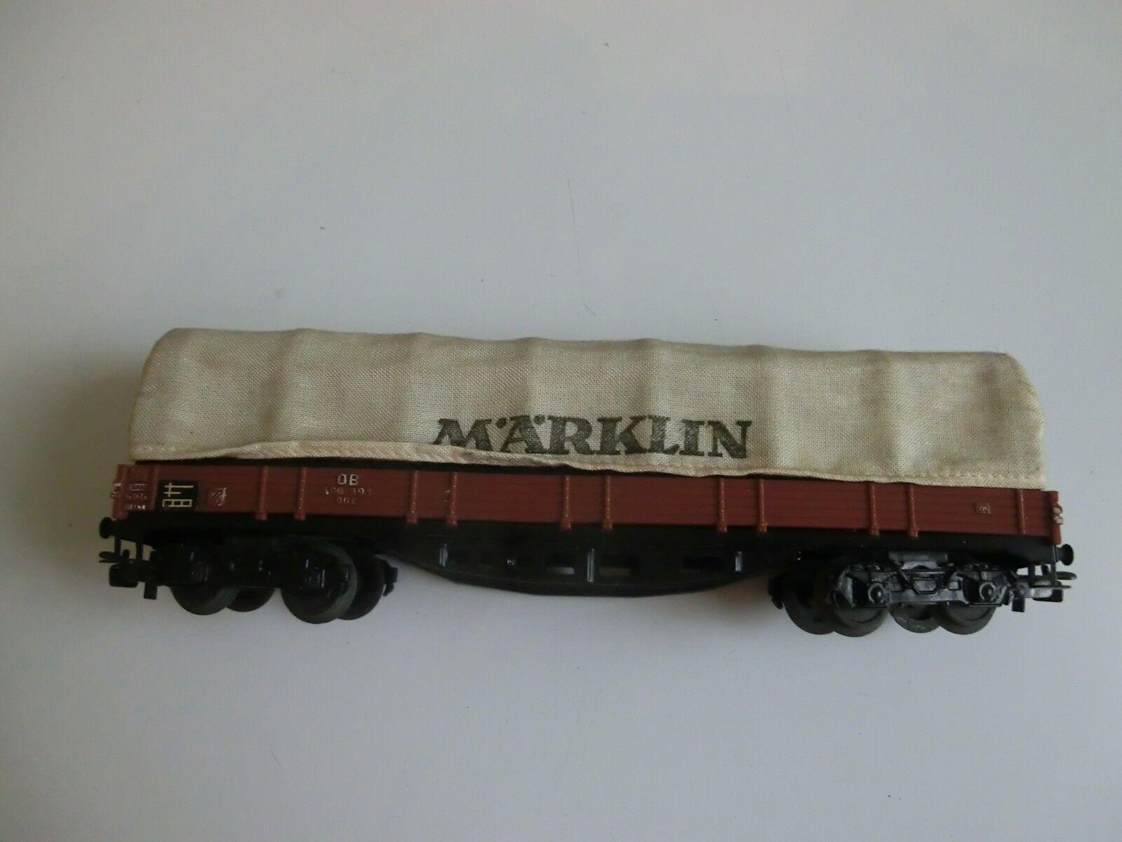 Märklin Güterwagen Planenwagen  | Ausreichende Versorgung