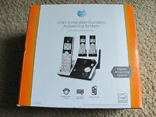 AT&T CL82315 DECT 6.0 Cordless Phone with Digital Answering System 3 Handsets