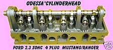 FORD 2.3 SOHC RANGER MUSTANG 4 PLUG  CYLINDER HEAD LARGE SPRING 85-88 REBUILT