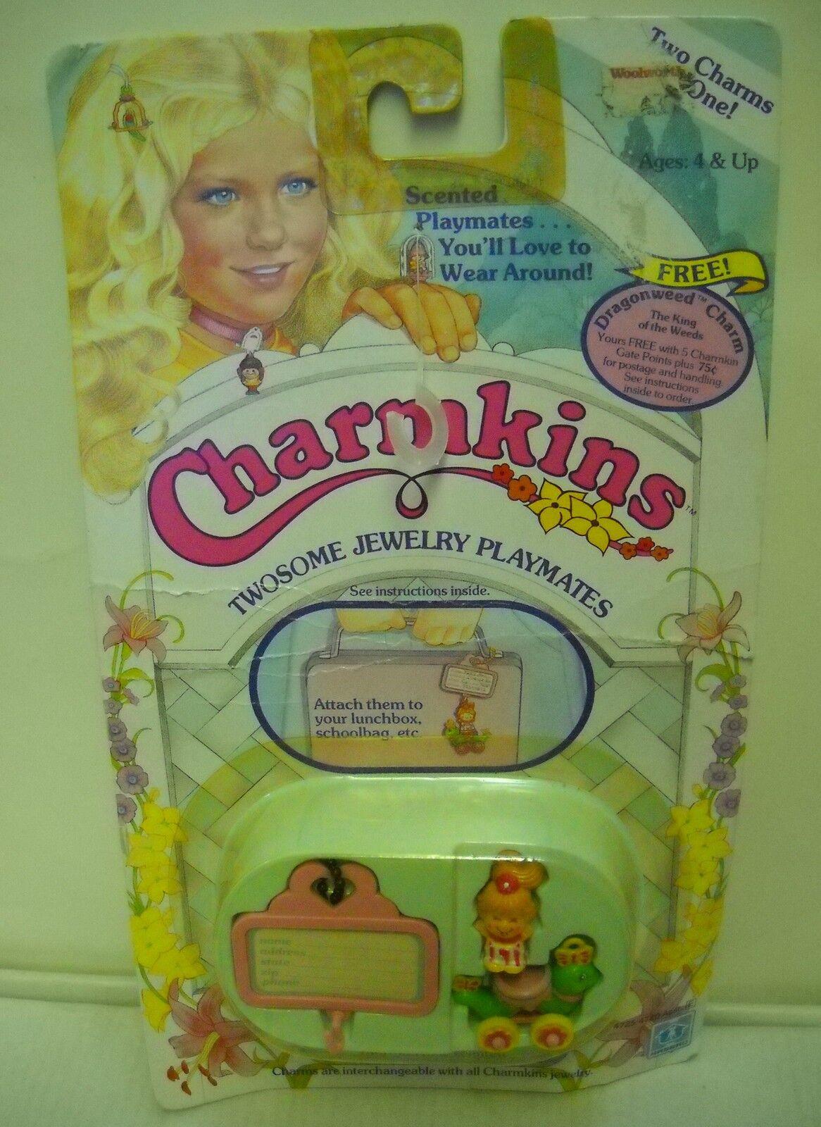 Nrfc Vintage Hasbro charmkins rebotando apuesta y media Oruga encantos