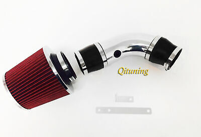 Red Air Intake System Kit/&Filter For 1999-2003 Chevy Tracker 1.6L 2.0L L4