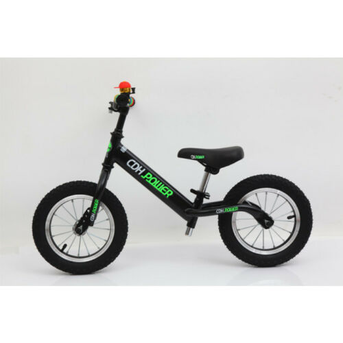 CDH12x2.125 Inch Adjustable Balance Bike-Black for Ages 2 to 6 Years Old.10.12LB