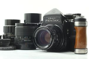 [Quasi Nuovo con lente 4] Pentax 6x7 TIME TO LIVE M-Up Body + SMC T 55 105 150 200 mm Lens Japan