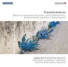 Transformation Sonic.art Saxophone Quartet Christian Lindberg Evelina Dobraev
