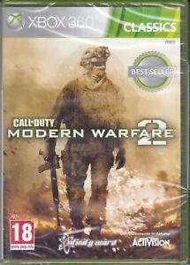 Xbox-360-CALL-OF-DUTY-MODERN-WARFARE-2-MW2-nuovo-sigillato-italiano-pal