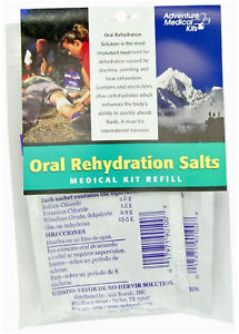 Adventure Medical Kits First Aid Oral Rehydration Salts 3 Per Pack #0155-0650