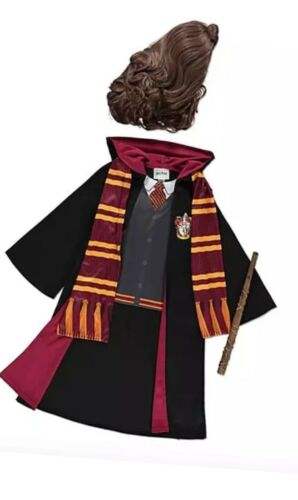 George Hermione Granger Harry Potter  Costume Girls Fancy Dress Book Day 5-6