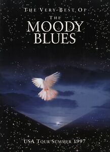 MOODY BLUES 1997 USA SUMMER TOUR CONCERT PROGRAM BOOK BOOKLET / NEAR MINT 2 MINT