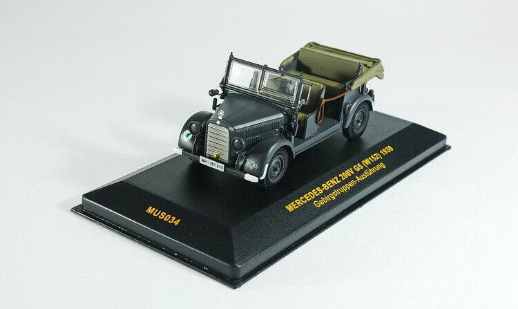 Scale model 1 43 Mercedes-Benz 200V G5 (W152) Gebirgstruppen-Ausfuhrung 1938