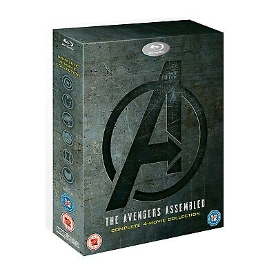 Avengers: 4-movie Collection (Box Set) [Blu-ray] RELEASED 02/09/2019