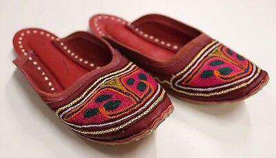 Indische Schuhe Damen Indoor & Outdoor Schuhe - Indien Gr. 39 - ECHT LEDER