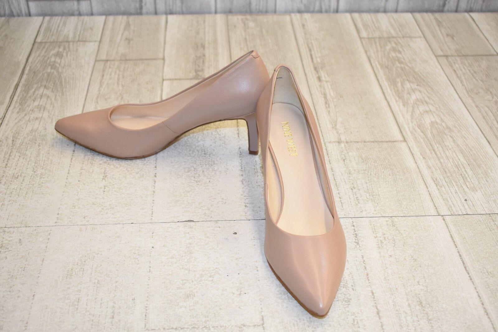 Nine West Eara Heel - Women's Size 8M Beige