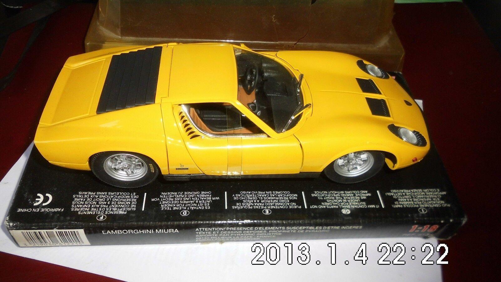 Lamborghini Mura -1.18e- club metal die cast -neuve