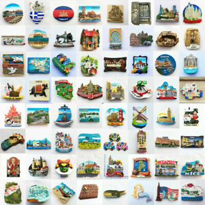 Refrigerator Fridge Magnet Toys Various Style Kitchen Decor Travel Souvenir Gift