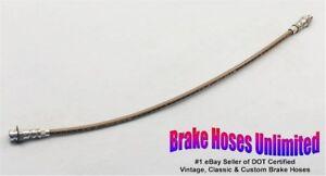 REAR-STAINLESS-BRAKE-HOSE-Oldsmobile-F85-Cutlass-1961