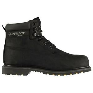Mens Safety Boots Leather Dunlop Nevada