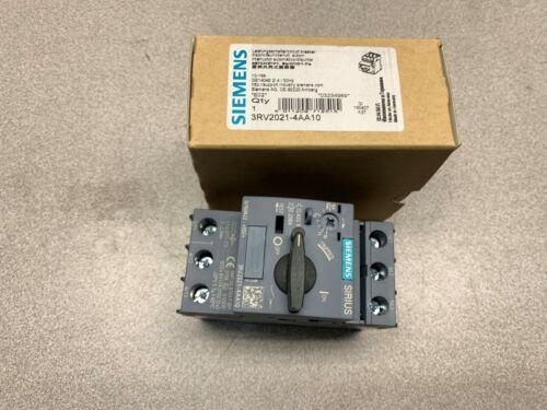 NEW IN BOX SIEMENS BREAKER 3RV2021-4AA10