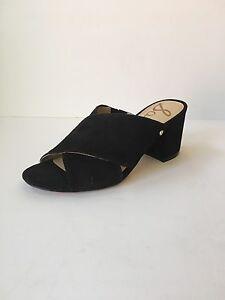5ec88e6f6204 Sam Edelman Stanley Block Heel Mule Sandal in Black Suede Size 5.5 ...