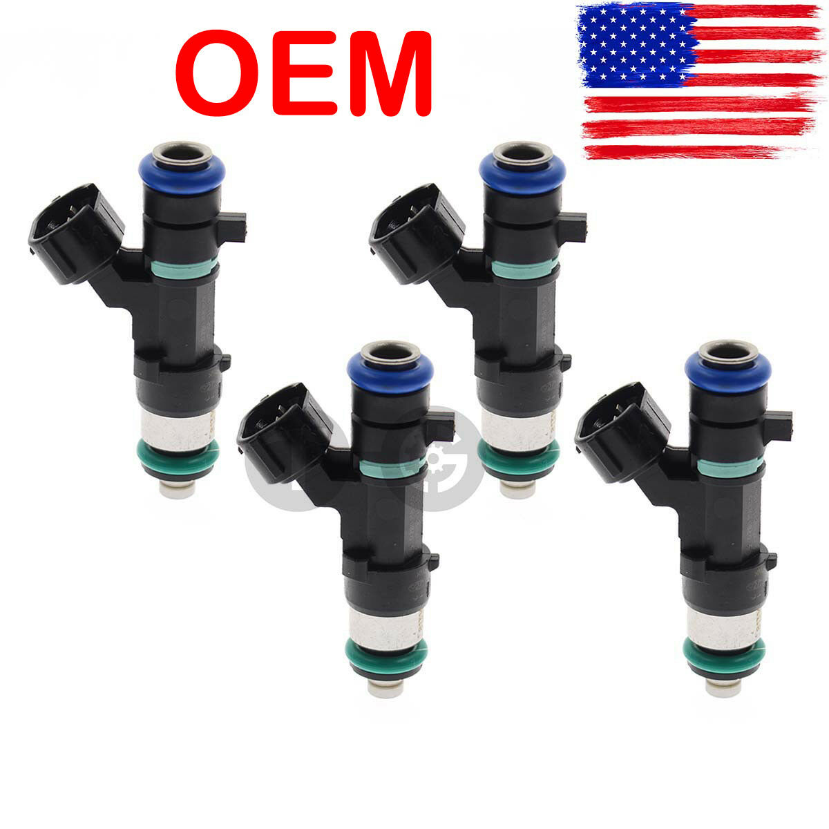 4pcs OEM Bosch Fuel Injectors FJ1020 Set for Nissan Rogue Altima Sentra 2.5L l4