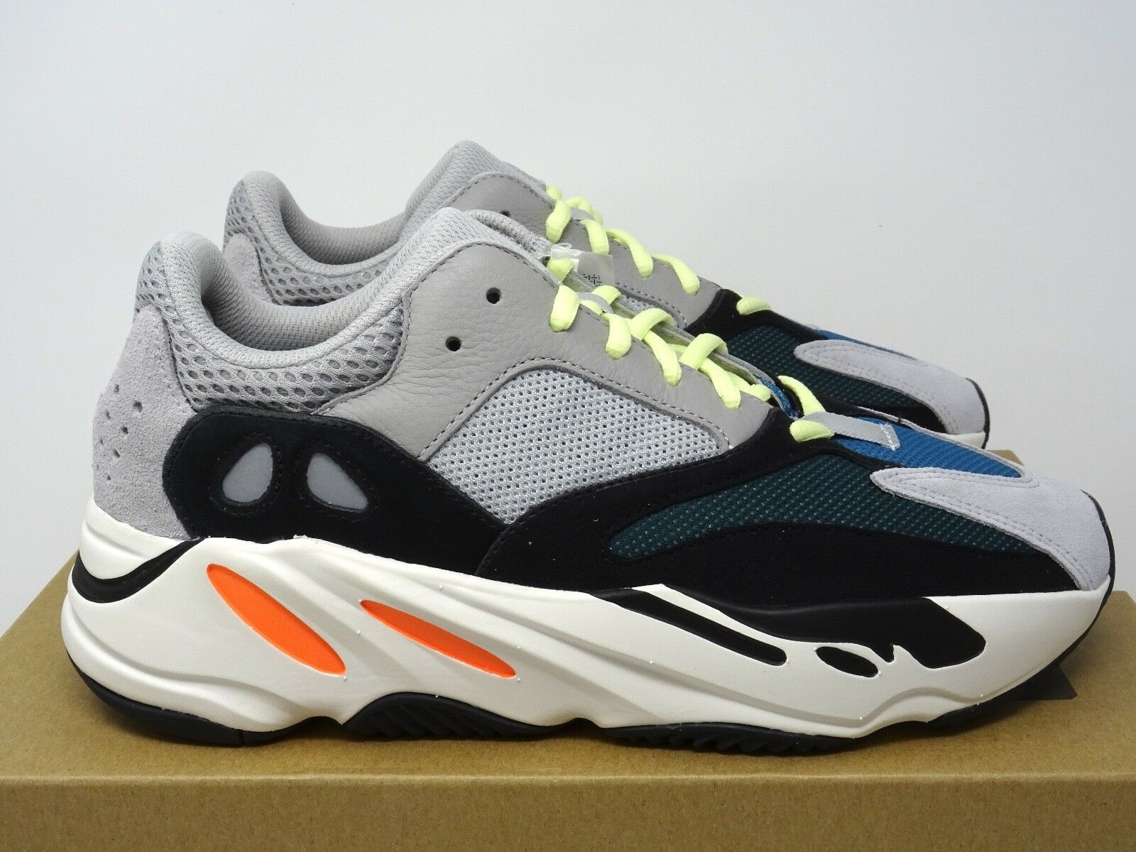 Adidas Yeezy Boost 700 Wave Runner OG Solid Grey orange US