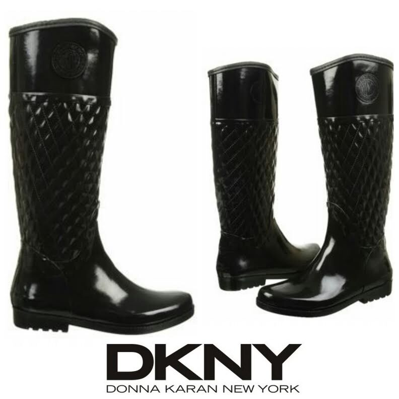 DKNY Rainboots women Karan Rain Boot Active Galya Tall Fashion Designer Winter