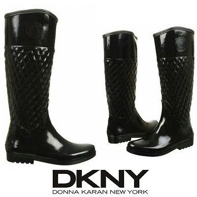 DKNY Rainboots Donna Karan Rain Boot Active Galya Tall Fashion Designer Winter
