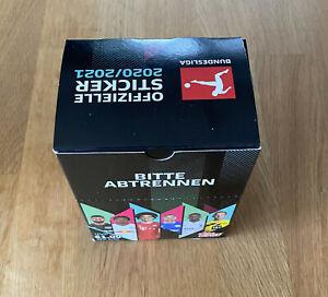 Topps-Championnat-Sticker-2020-2021-1-x-Display-36-pochettes-NOUVEAU-amp-NEUF-dans-sa-boite