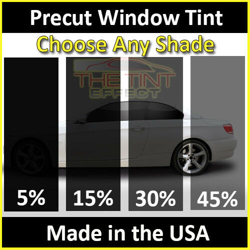 Precut Window Tint Front + Visor Fits 2015-2019 Silverado 2500 Regular Cab