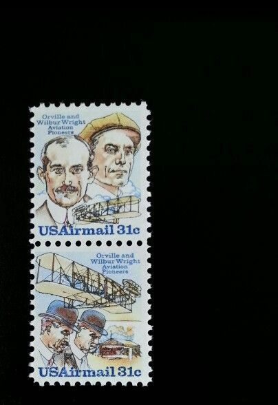 1978 31c Wright Brothers, Orville & Wilbur, Aviation Sc