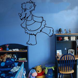 Autocollant Mural Enfants Dinosaures Art Chambre Enfants Garçons Filles Décoration Fun Ki42-afficher Le Titre D'origine Performance Fiable