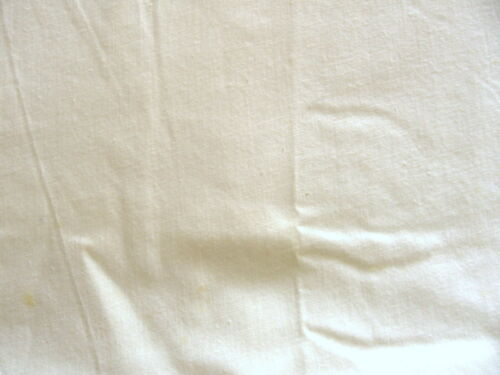 """100/% Lt Weight Cotton Fabric 108/"""" Wide Unbleached Muslin Sheeting"""