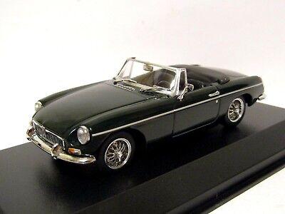 1962-Green Minichamps 1:43 MGB cabriolet