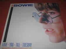"RAR.David Bowie ""LOVE YOU TILL TUESDAY"" Vinyl LP on 1984"