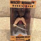 FUNKO AMC THE WALKING DEAD WACKY WOBBLER MICHONNE BOBBLE HEAD