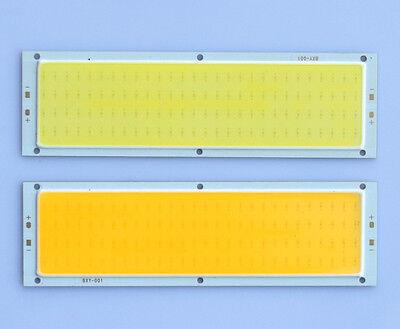 1/5x 10W COB 112 LED Panel Lampe Strahler Licht Rein/Warm Weiß 120x36mm DC 12V