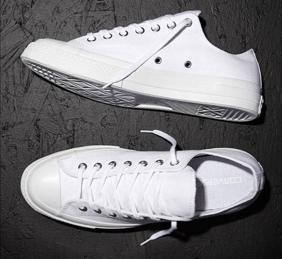 Zapatos promocionales para hombres y mujeres Converse All Star Total Blanco Bajo Todos Suela Clásico Lona Hombre Mujer