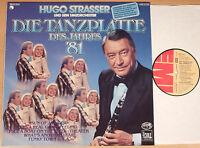 HUGO STRASSER ORCHESTER - Die Tanzplatte des Jahres '81  (EMI 1980 / LP vg++/m-)