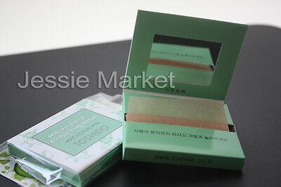TOSHIDO Natural Facial Oil Control Blotting Paper, Speical Mirror Case
