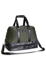 3e908609bad6 Details about Versace Parfums Men Duffle Bag Weekender Gym Sport Travel  Overnight Handbag