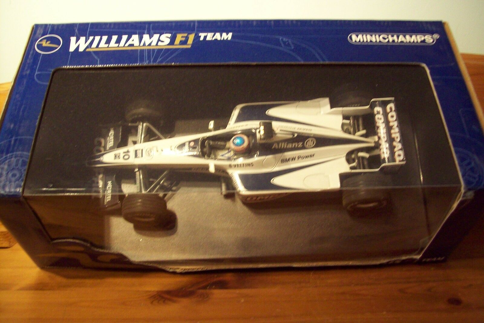 1 18 WILLIAMS BMW FW22  JENSON BUTTON  prix de gros