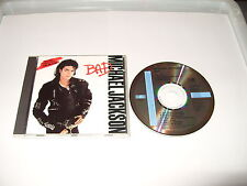 Michael Jackson - Bad  - 1987  cd Early press cd