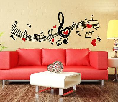 Abile 00788 Wall Stickers Sticker Adesivi Muro Murali Note Volanti 120x45 Cm