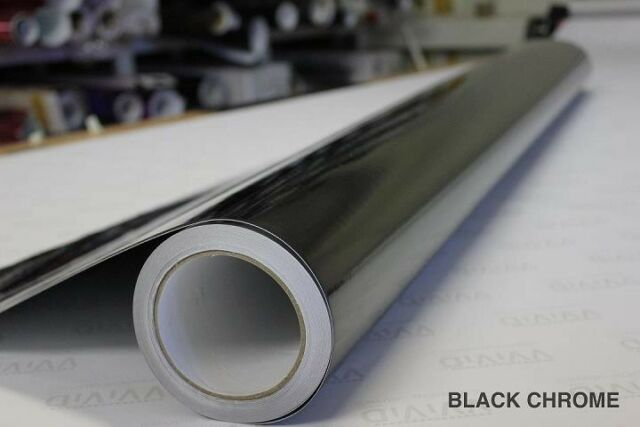 3ft x 5ft VViViD Premium Satin Chrome Brown Vinyl Wrap Roll w//Air-Release Adhesive Technology