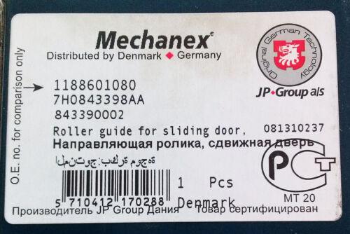 ROLLER GUIDE FOR SLIDING DOOR 1188601080 lower right 7H0843398AA VW T5