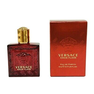 Details about  VERSACE EROS FLAME 5ml EDP  For Men By  ( Travel Size )