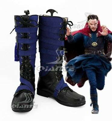 Doctor Strange Boots Stephen Shoes Cosplay Boots Halloween Comic Con New