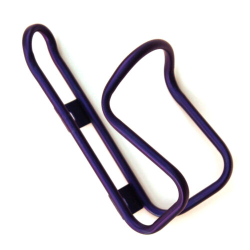 Anodized Purple Made in Durango USA King Cage Titanium Water Bottle Cage