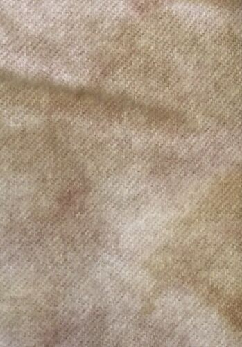"/""Aged Linen/"" hand dyed rug hooking wool - 1 Fat Quarter 100/% Wool"