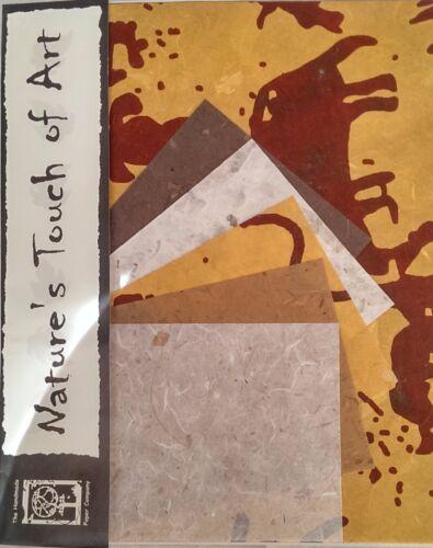 cavernícola SP 20 hojas de papel de morera en 2 Tamaños//libro de chatarra//decoupage//Arte//Artesanía